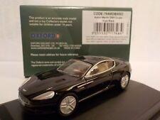 Aston Martin Db9, Black, Model Cars, Oxford Diecast