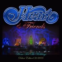 HEART - HEART & FRIENDS-HOME FOR THE HOLIDAYS (DIGIPAK)  CD + DVD NEW!