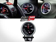 RaceTech 80mm Turbo Boost Smoke StepperMotor LED Gauge Meter White LED BAR PSI