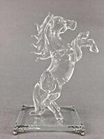 22cm Crystal Horse Figurine Gift Home Decoration Swarovski Look