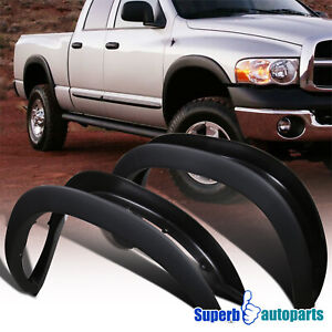 For 2002-2008 Dodge Ram 1500 03-09 2500 3500 4 PCS Factory Style Fender Flares