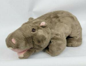 "Vintage Fiesta 19"" Gray Hippo Plush Stuffed Classroom"