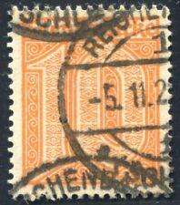 Dt. Reich Dienstmarken Mi. 65 gestempelt, tadellos gepr. Infla (600,-€)(6552/28)