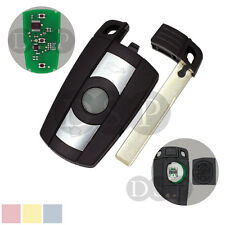 Key Shell + Blank 868 MHz w/ Chip fit for BMW 1 3 5 6 7 Series Smart Remote Key