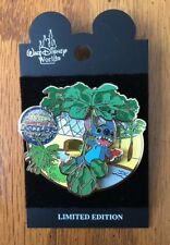 RARE STITCH ADVENTURE OF DISCOVERY EPCOT Disney LE Pin swings THE LAND PAVILION