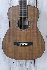 Martin LXK2 Koa Pattern Little Martin Acoustic Guitar Travel Guitar with Gig Bag