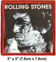"Vintage 2003 Rolling Stones Tattoo You Keith Embroidered Iron-On Patch 3""x3"" New"