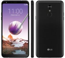 LG - Stylo 4 with 32GB Memory Cell Phone (BOOST MOBILE) - Black Android 8.1 OREO
