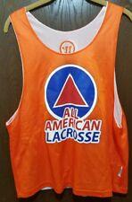 Warrior Orange All American Lacrosse Lacrosse Jersey Man S/M