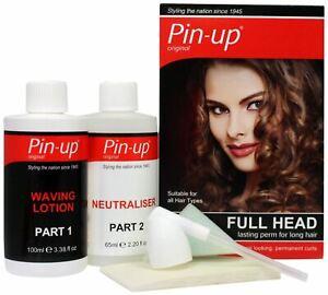 Pin-Up Full Head Lasting Perm for long hair Kit -100ml