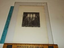 Rare Antique Original 1885 Boussod Valadon John Van Eyck Photogravure Art Print