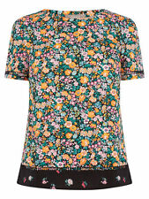 Short Sleeve Floral Casual Tops & Shirts for Women