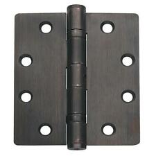 Bronze Ball Bearing Non Removable Pin Residential Door Hinge 3 Pack Hinges Lot