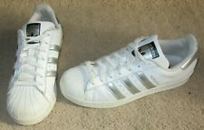 Adidas Superstar Unisex White Trainers UK 8