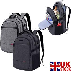 "KROSER Laptop Backpack 15.6"" Ultra Light Stylish WaterRepellent USB ChargingPort"