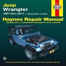 1987-2011 Jeep Wrangler Repair Manual 03 2004 2005 2006 2007 2008 2009 2010 983X