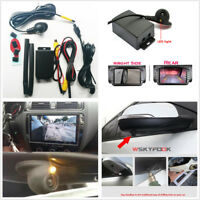 Car Side View Blind Spot Backup Camera Parking System Cameras Switch Control Box