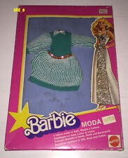 BARBIE MODA SETA | OUTFIT FASHIONS SILK WOOL COTTON | MATTEL 1979 | ITALY NRFB