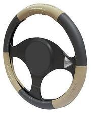 Bronceado/Negro/Beige Cuero Volante Cubierta 100% Cuero M17/5