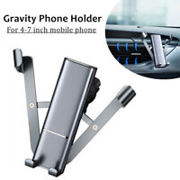 Car Mobile Phone Holder Car Navigation Bracket Air Outlet Fixed Gravity Support