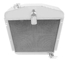 3 Row RS Champion Radiator for 1947 1948 1949 Plymouth Coupe