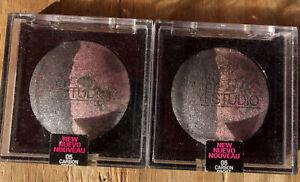 2 Maybelline EyeStudio Eye Shadow Duo - 05 Carbon Frost