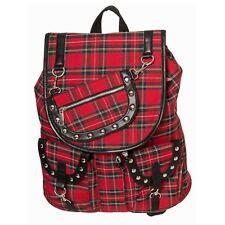 Banned Yamy Tartan Punk Backpack