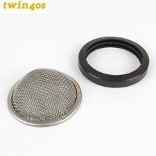 1Trumpet Ram Pipe Gauze Filter Dellorto DHLA40 DRLA40 Weber DCOE40 IDF40 clip on