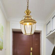 Glass Pendant Light Kitchen Chandelier Lighting Home Ceiling Lights Copper Lamp