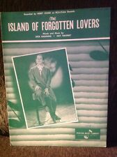 """PERRY COMO """"(The)Island of Forgotten Lovers,"""" 1962  *RARE  *NEW from old stock"""