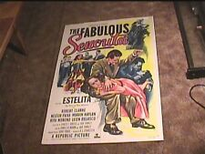 FABULOUS SENORITA 1952 ORIG MOVIE POSTER ESTELITA SEXY GIRL BEING SPANKED
