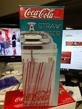 Coca Cola STRAW DISPENSER COKE TM BRAND Diner Collection 1992 Edition