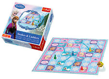 Trefl Kids Snakes & Ladders Disney Frozen Traditional Family Board Game Girl Toy