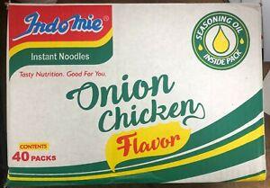 Indomie noodles 40     ONION CHICKEN NOODLE     40 X 70G full BOX.