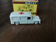 Benbros Might Midget Daimler Ambulance No. 38 cream with original box.