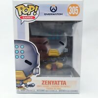 Funko Pop! Games Overwatch Zenyatta #305 Collectible Vinyl Figure New in Box