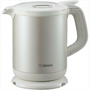 New Zojirushi electric kettle (0.8L) White CK-AH08-WA F/S from Japan