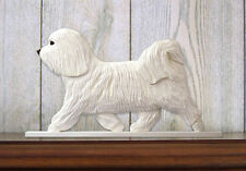 Havanese Sign Plaque Wall Decor White
