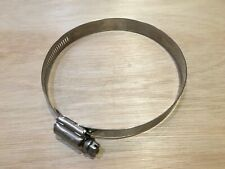 Qty 10. HI-TORQUE 90mm - 120mm Stainless Steel Slotted . 16mm Band Width.