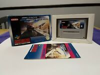 Super Air Diver - SNES Super Nintendo Game CIB PAL UKV + box protector