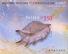 Poland souvenir sheet imperforated Philatelic Exhibition Sydney 2005