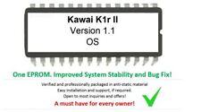 Kawai K1r II - Versione 1.1 Firmware Upgrade Update OS Eprom For K1r MK2 Rack