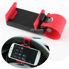 Steering Wheel In Car Mobile Phone Mount Holder For Iphone 5/5S/6/6S/Samsung/HTC