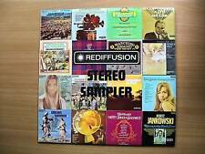 REDIFFUSION STEREO SAMPLER 1972 VARIOUS ORCHESTRAS EXC.