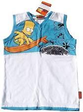 OFFICIAL MERCHANDISE Bart Simpson Kids Surf T-Shirt 164