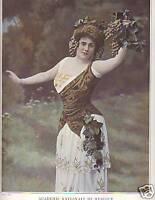 1914 Le Theatre Academie Nationale de Musique