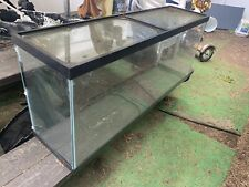 New listing 55 Gallon fish tank w/filter and extra filters and lids - Local Pickup Only!