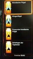 Diablo 3 Ros - 4 x Wings / Flügel + Gold - PS3 / PS4