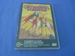 Outrageous Fortune DVD Bette Midler Shelley Long R4 Free Tracked