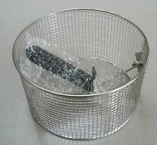 21cm Sunbeam Deep Fryer Basket, Fryer Basket, Stainless Steel Basket.